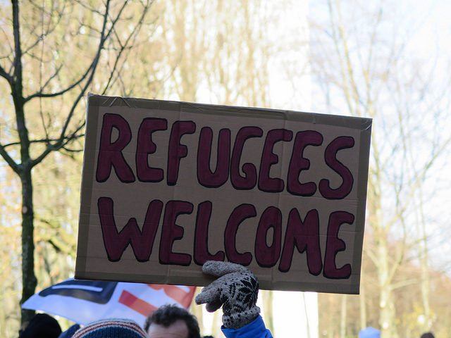 Grote betoging in Brussel toont solidariteit met migranten en vluchtelingen