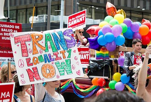 Strijden voor trans-gelijkheid!