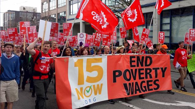 Niet hoge lonen, maar kapitalistische inhaligheid leidt tot werkloosheid