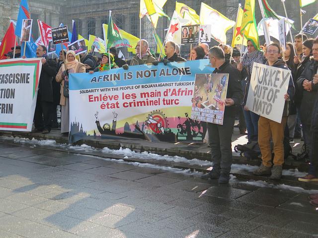 Voor massaal verzet tegen de Turkse aanval op Afrin!