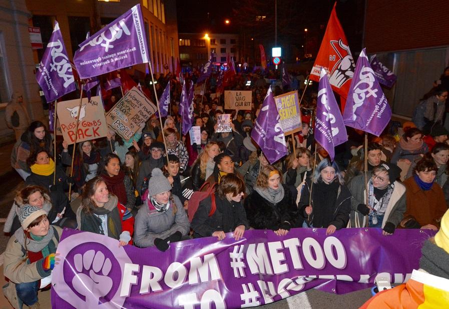 ROSA maakt van 8 maart een strijdbare internationale vrouwendag