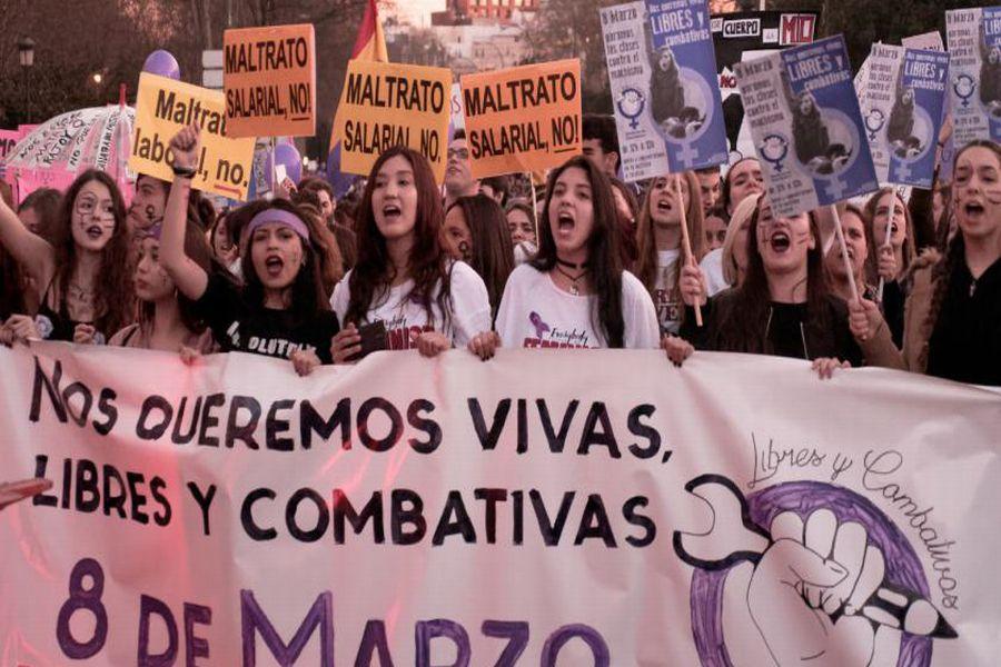 Massale jongerenacties gepland in Spanje naar aanleiding van 8 maart