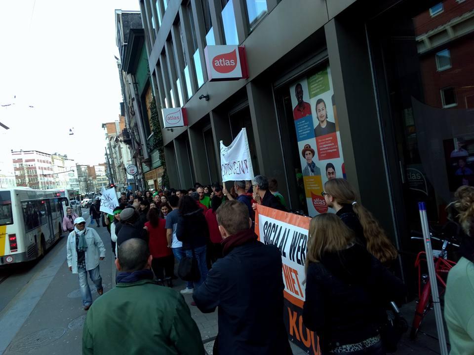 Personeel integratie en inburgering in Antwerpen voert actie