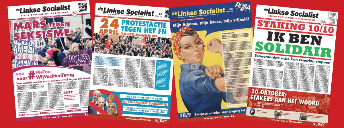 Steun alternatieve linkse media: plaats een boodschap in onze meikrant!