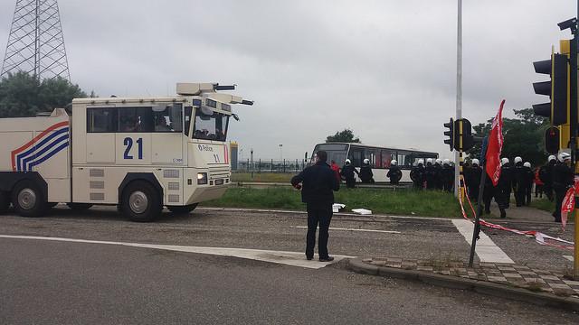 Stop criminalisering sociale actie! Antwerps ABVV-voorzitter vervolgd wegens protest tegen rechtse regering