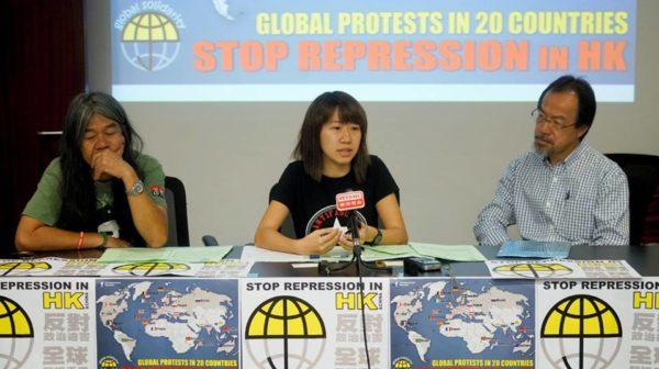 Stop repressie in Hong Kong – internationale solidariteitscampagne