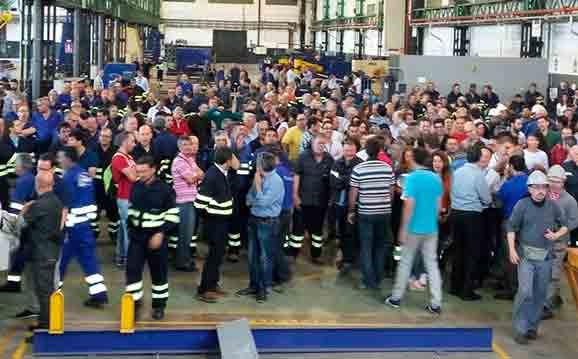 Algemene staking in metaalsector in Spaanse Cadiz na dodelijke ongevallen