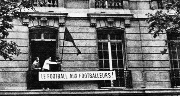 Ook dat was mei '68: bezetting van de hoofdzetel van de Franse Voetbalfederatie