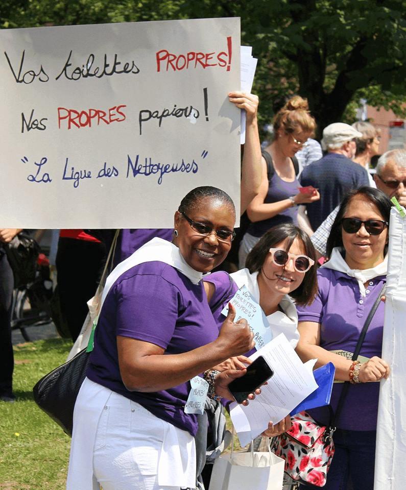 Betoging voor regularisatie van mensen-zonder-papieren