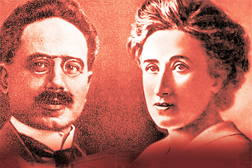 Leon Trotski over Karl Liebknecht en Rosa Luxemburg (1919)