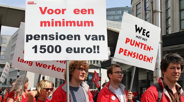Regering is niet zo sterk als ze laat uitschijnen: pensioenstrijd doorzetten!