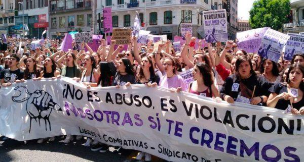 Interview: groeiende massastrijd voor vrouwenrechten in Spanje