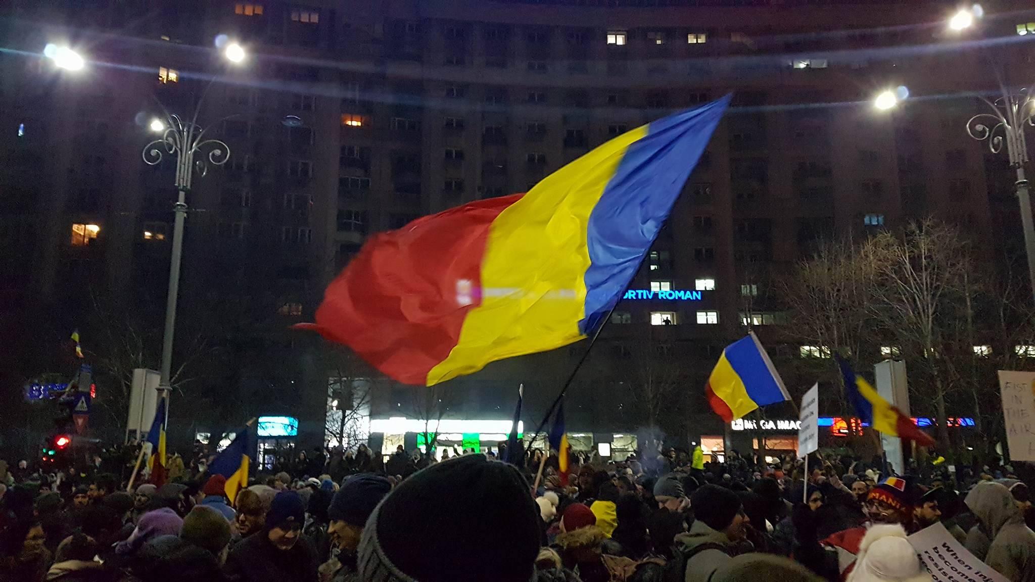 Massale betogingen tegen Roemeense regering