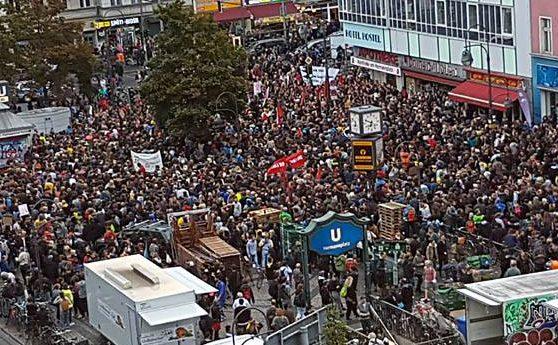 Berlijn: 10.000 op betoging tegen extreemrechts geweld