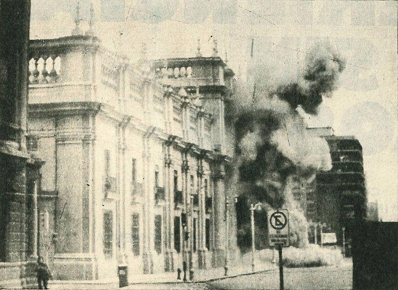 11 september 1973. De staatsgreep van Pinochet in Chili maakt einde aan revolutie