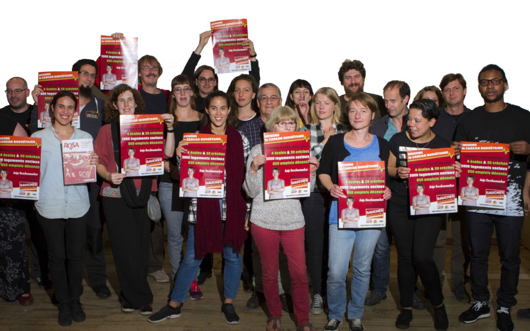 Sint-Gillis: Gauches Communes trekt campagne naar links