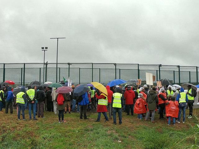 20 jaar na de dood van Semira: protest in Steenokkerzeel