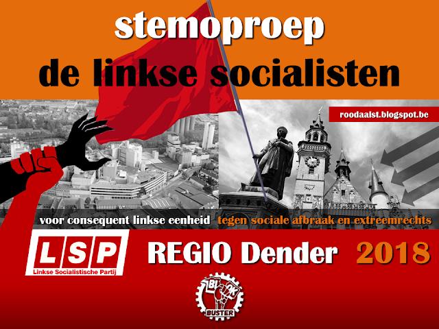 Dender: stemoproep van de linkse socialisten