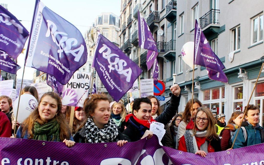 25 november: betoging tegen geweld op vrouwen