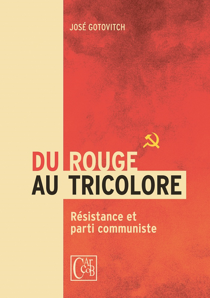 Boek. Van rood tot de driekleur: de Communistische Partij en het verzet