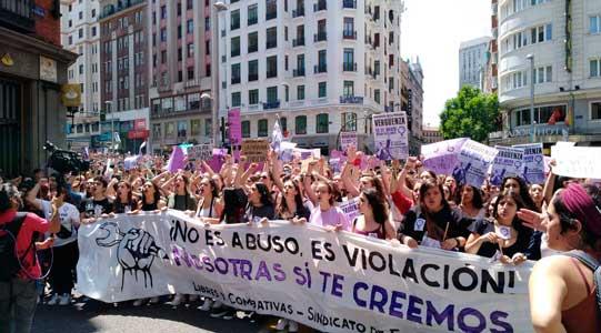 Spanje: naar nieuwe feministische staking van vrouwen én mannen op 8 maart 2019