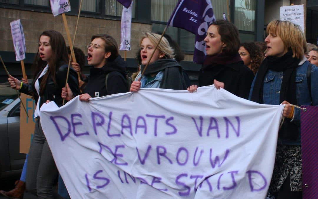 Betoging op 25 november. Stop geweld op vrouwen