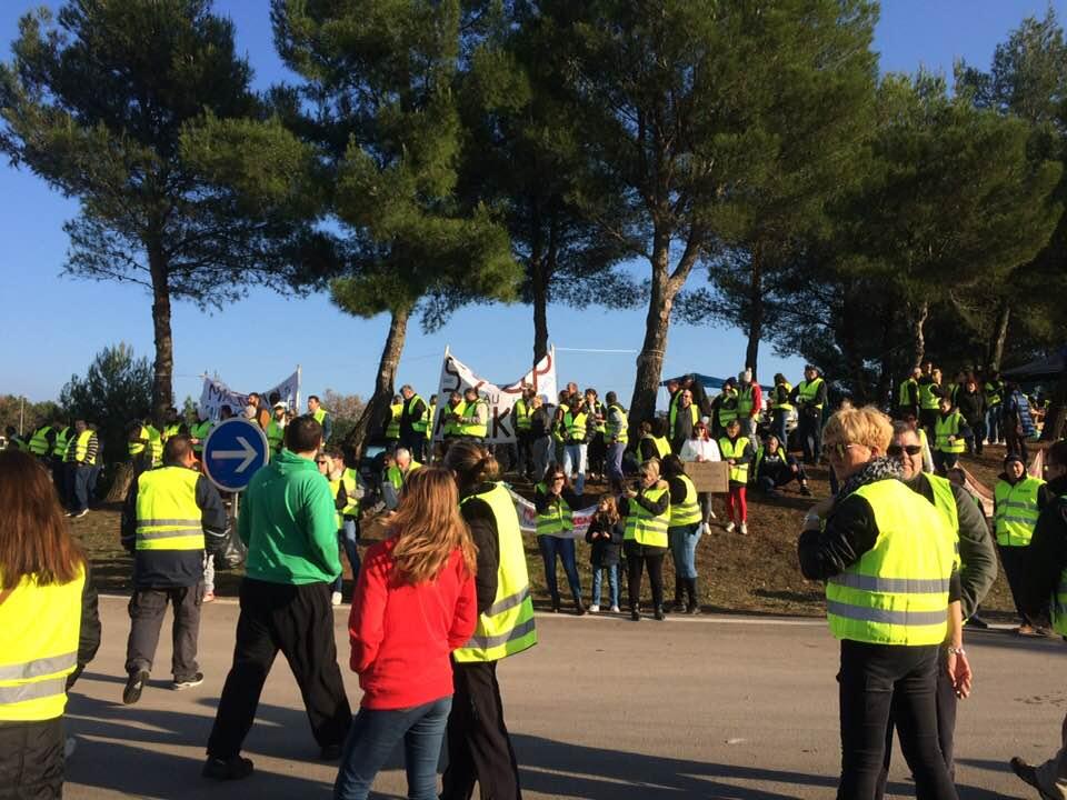 Verslag vanuit de Franse beweging van gele hesjes: 10de dag van strijd in Montélimar
