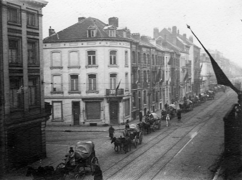De Duitse soldatenraad in Brussel in november 1918