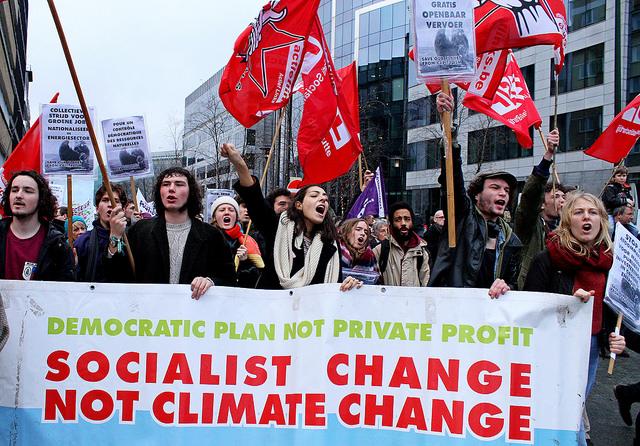 Klimaatverandering en vervuiling: De vrije markt is de oorzaak, niet de oplossing!