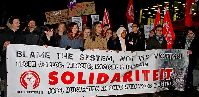 Antifascisten organiseren tegen extreemrechts offensief! Anti-NSV betoging in Leuven in maart!