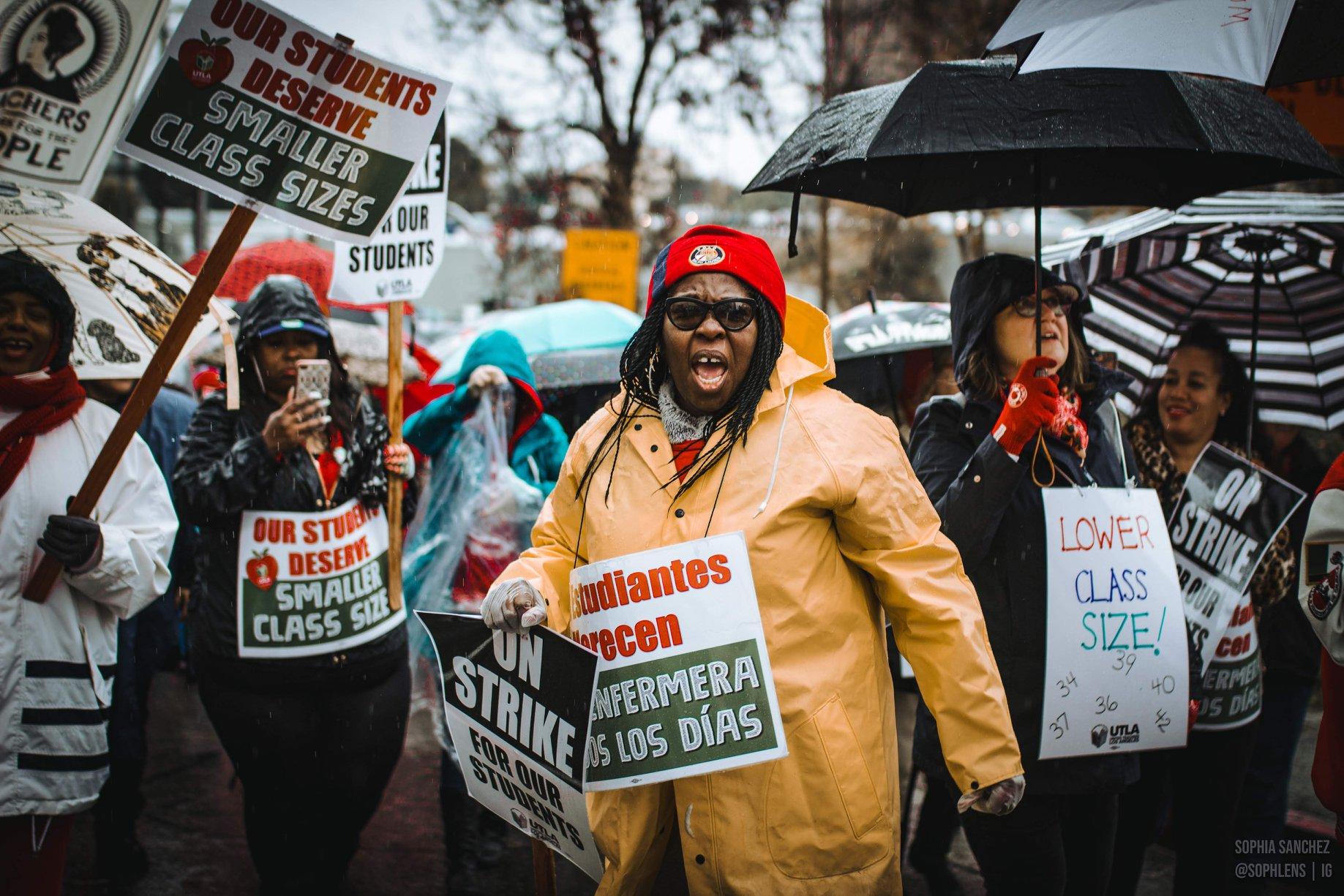 Overwinning voor leraren in Los Angeles na zes dagen staking
