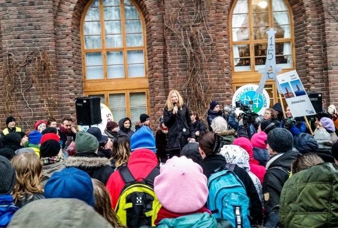 """Klimaatprotest in Zweden. """"Hier heb ik het gevoel dat ik nodig ben"""""""
