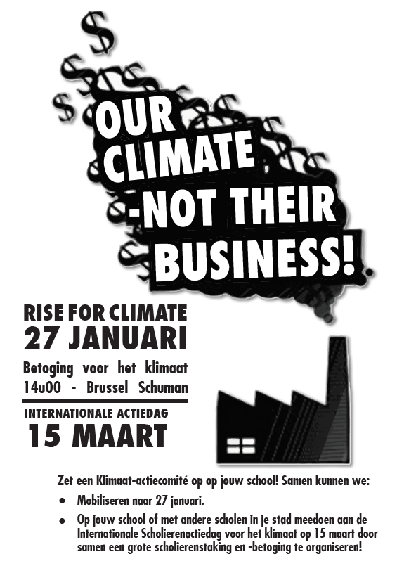Our climate, not their business
