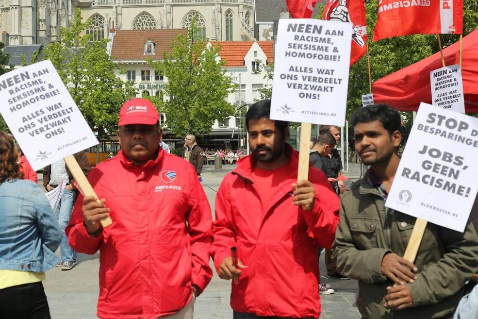 VB toont asociale anti-arbeiderskarakter door Van Langenhove binnen te halen