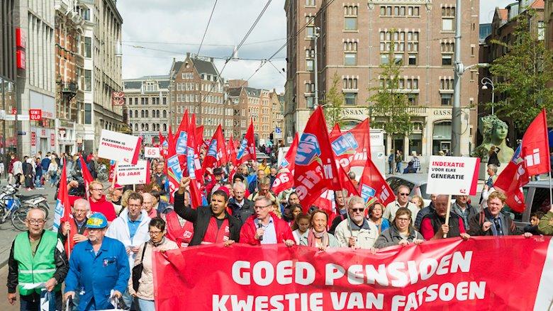 Vandaag en morgen: pensioenstakingen in Nederland