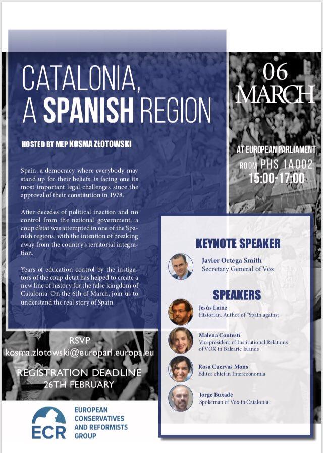 Europese fractie N-VA haalt Spaanse fascisten naar Brussel