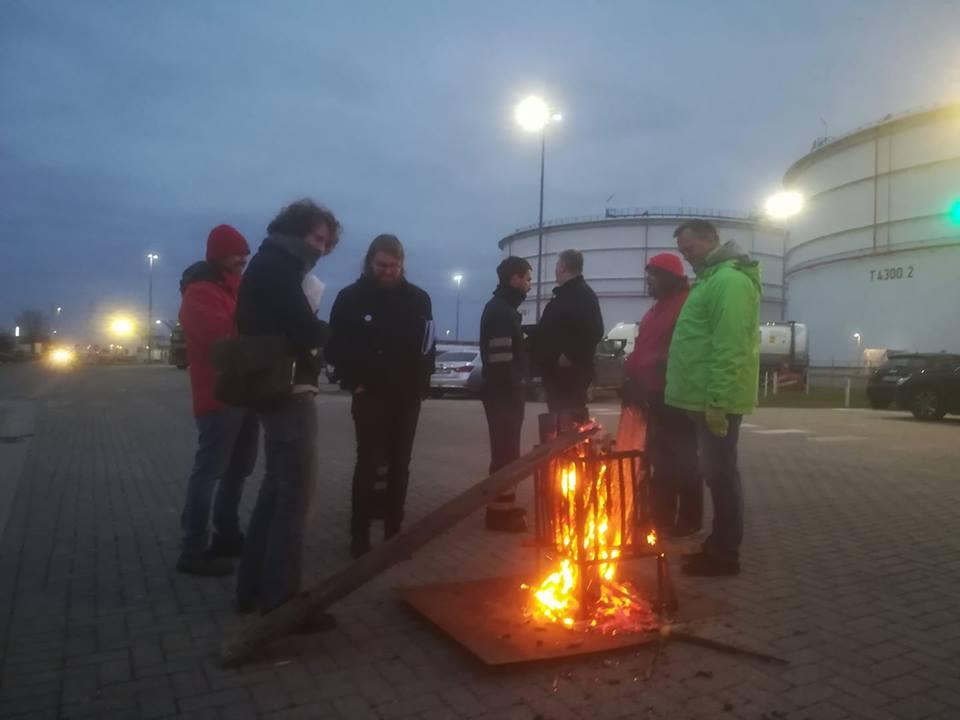 Gesprek met een delegee van Oiltanking Stolthaven Antwerp