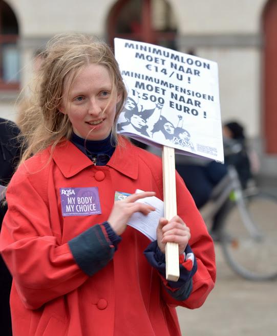 14 maart – Equal Pay Day: voor een minimumloon van 14 euro per uur!