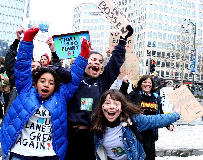 Klimaatbeweging: explosief, massaal en internationaal!