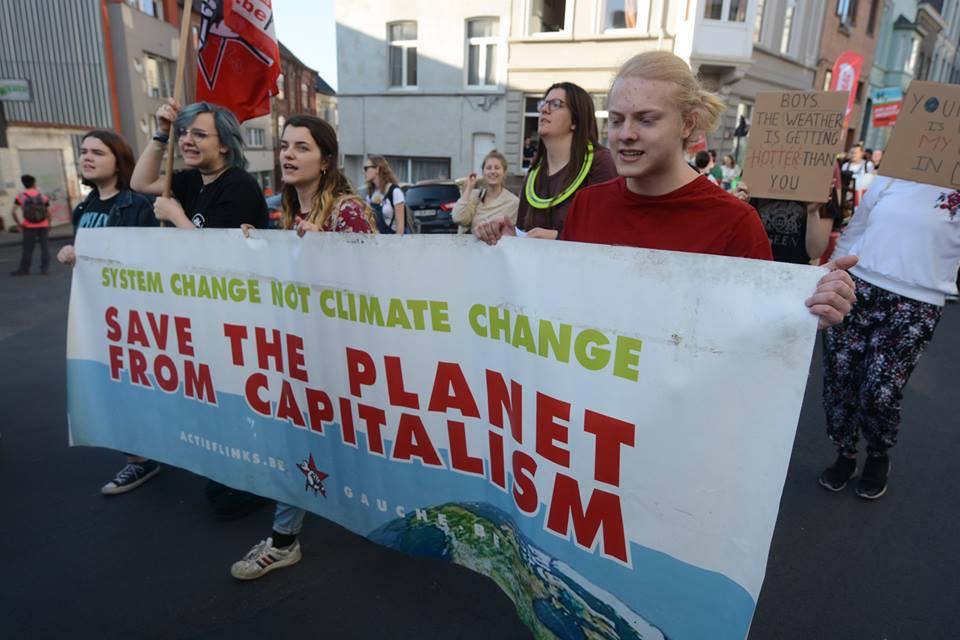 Klimaatprotest organiseren en richten op breed gedragen systeemverandering