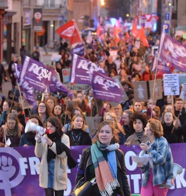 Gentse betoging tegen seksisme groot succes