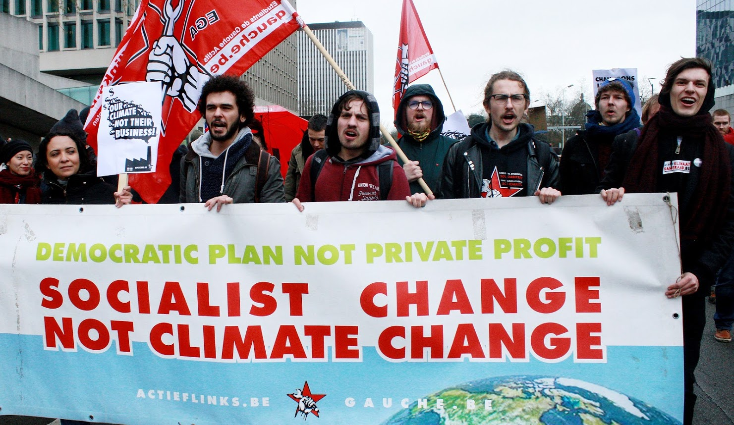 Klimaatbeweging: opbouwen naar nieuwe massale acties