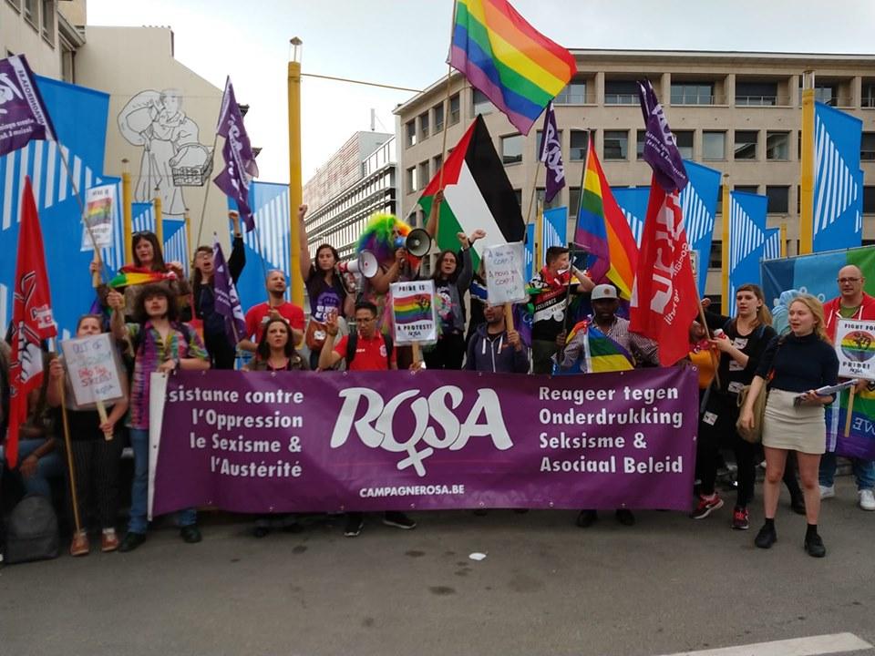 Pride is a Protest. Campagne ROSA was op de Pride afgelopen zaterdag