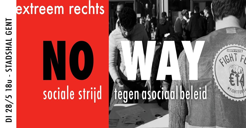 Na zwarte zondag: actie tegen racisme en extreemrechts!