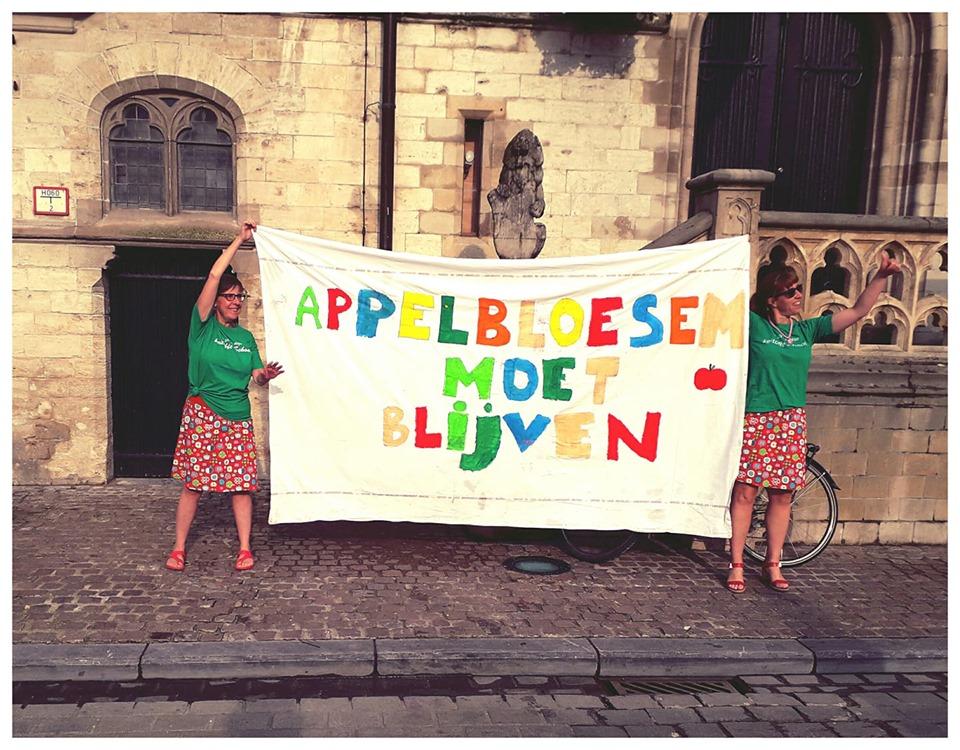 Dendermonde. Solidariteit met de leerlingen, ouders en personeelsleden van De Appelbloesem!