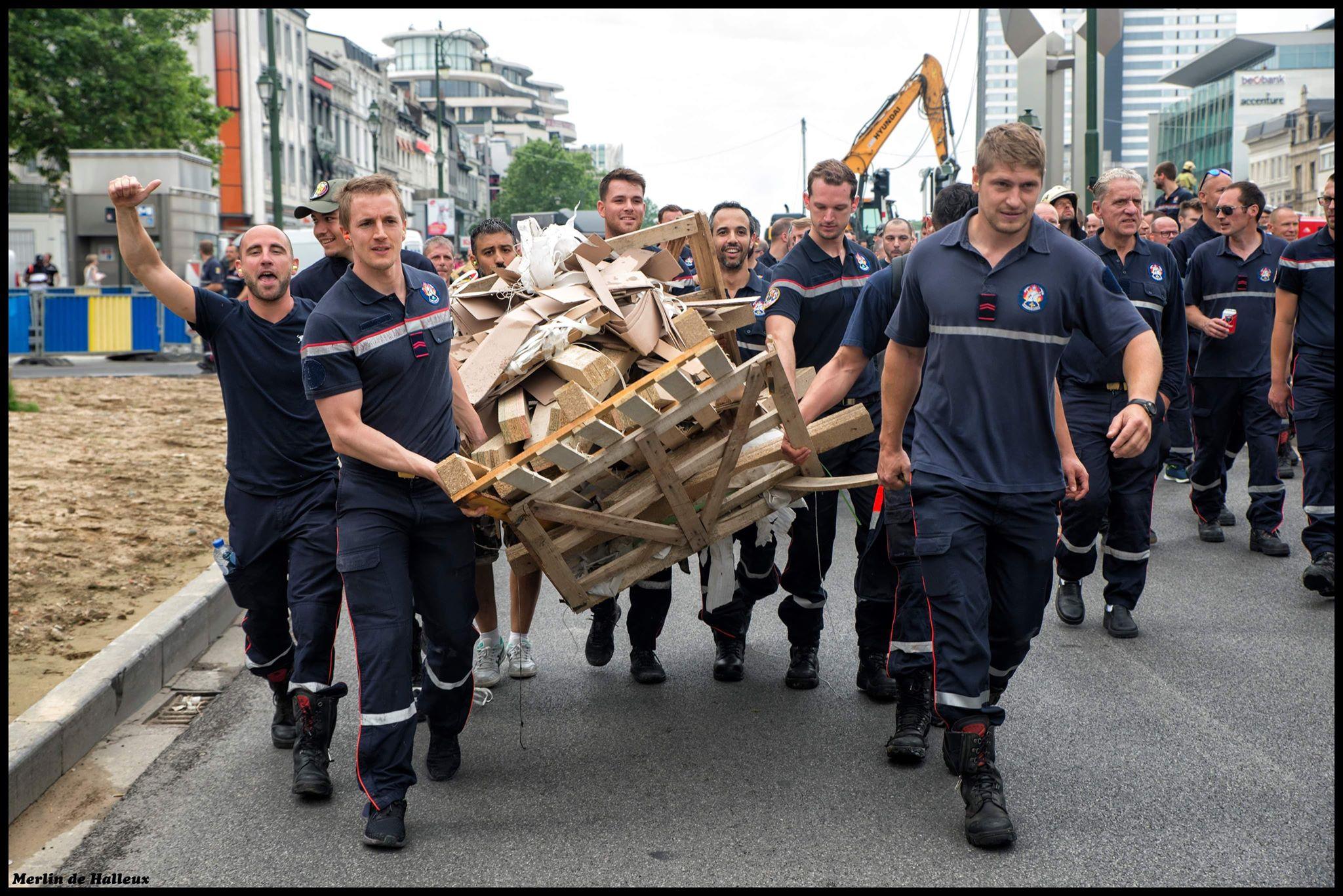 Brusselse pompiers in actie: interview vanuit het hart van de strijd