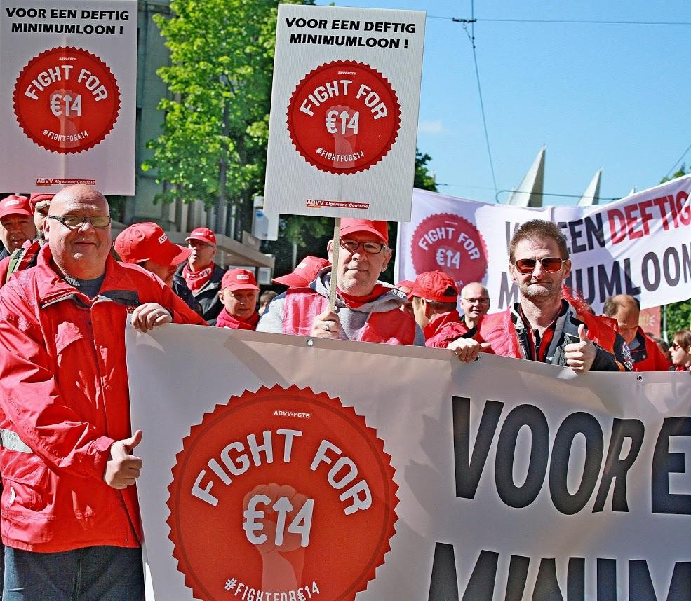 Hoger minimumloon leidt niet tot banenverlies. Een tegenargument voor 14€/u weerlegd