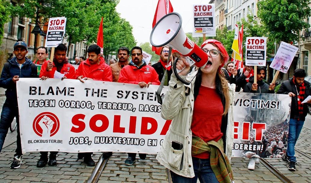 Tegen vrouwen, tegen holebi's, tegen syndicalisten. VB: vals belang voor ons!