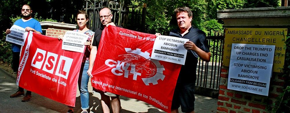 Internationale solidariteit: stop de vervolging van Abbey Trotsky in Nigeria