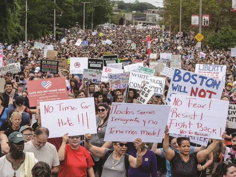 Dodelijk geweld in de VS: beweging tegen haat en geweld nodig